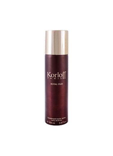 Korloff Royal Oud Kadın Deodorant 150 Ml Renksiz